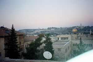 A view of  Jerusalem from the Mount of Olives 2003